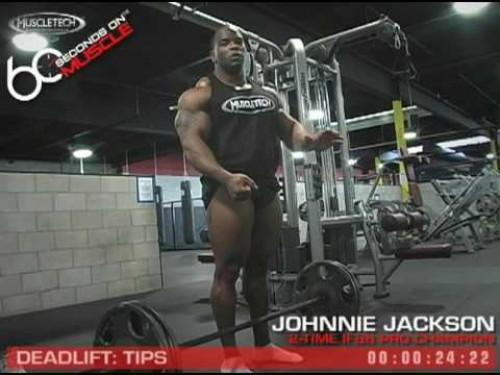 Johnnie Jackson Tips for Deadlifts