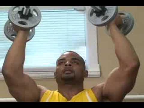 Bodybuilding arnold Shoulder Press