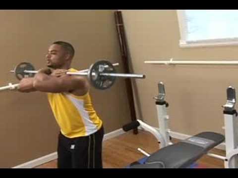 Bodybuilding: Front Squat