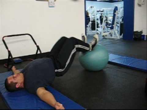 Bodyweight Leg Curls Glute Hamstring Workout