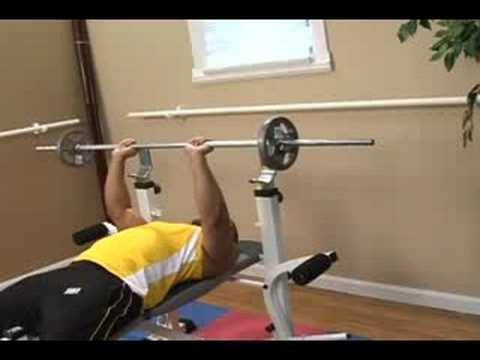 Bodybuilding Exercises : Bench Press