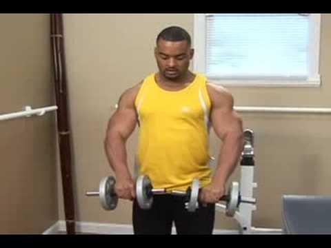 Bodybuilding Exercises : Standing Zottman Dumbbell Curls