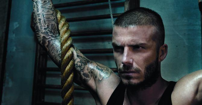 Get a body like Beckham