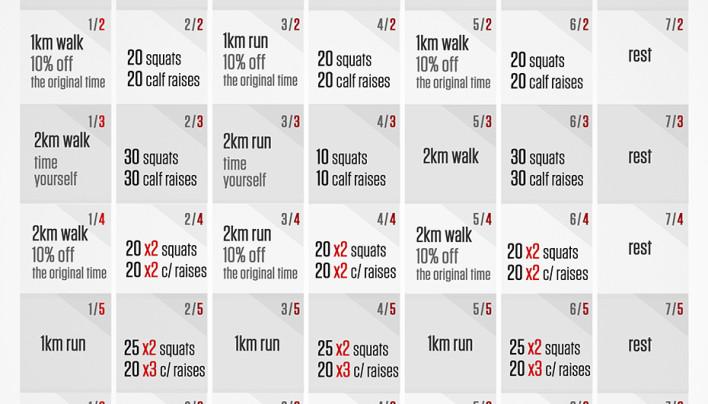 8 Weeks to 5K Challenge!
