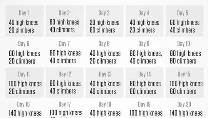 Cardio 30 day Challenge!