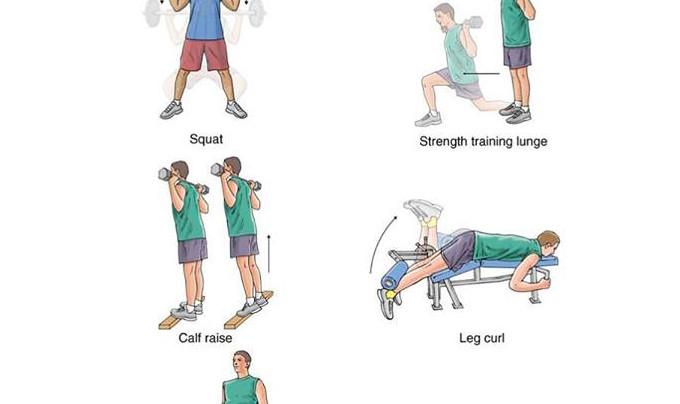 Lower Body Exercises!