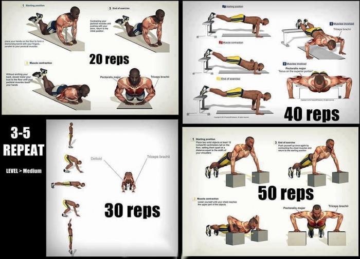 Hardcore Push-ups Workout!
