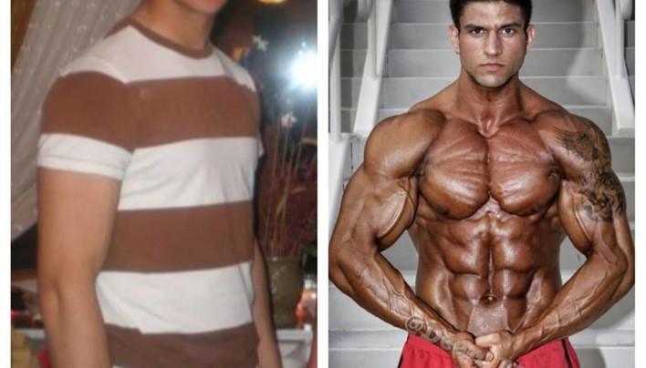 IFBB Pro Dean Michael's Transformation