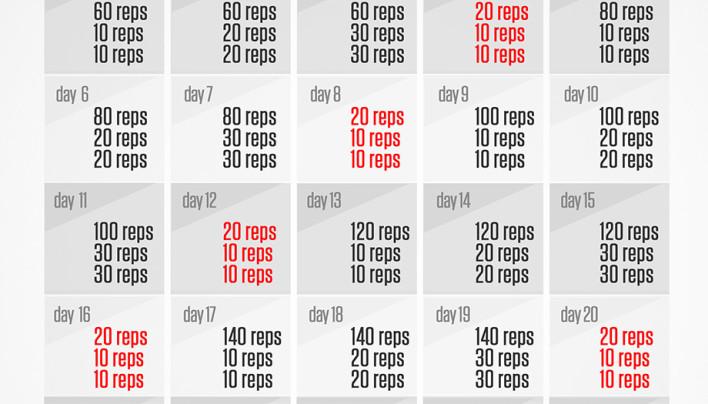 Home Run 30 day Cardio Challenge!