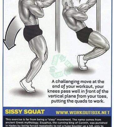 Sissy Squat Workout!