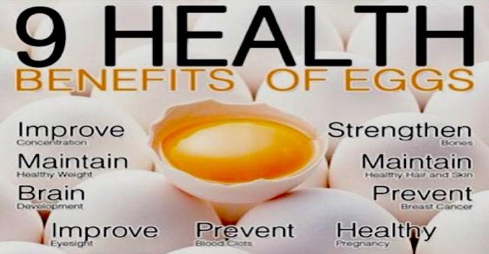9 Health Benefits of Eggs!