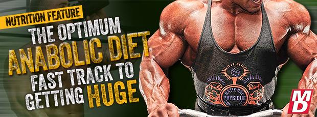 The Optimum Anabolic Diet