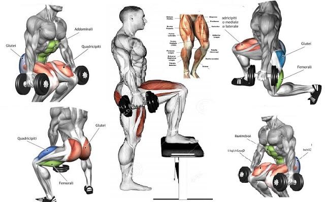 Top 4 Dumbbell Exercises For Legs